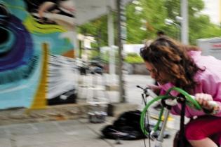 Kirsty Biking